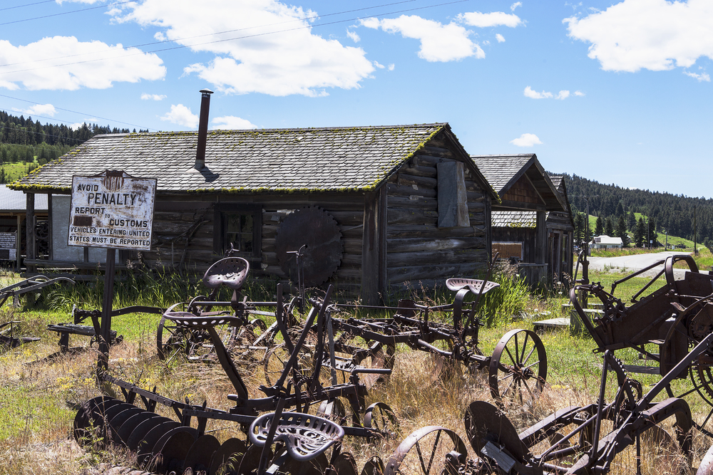 Ghost town: Molson, Washington