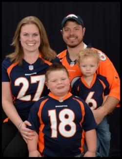 Ms. Heather & Family