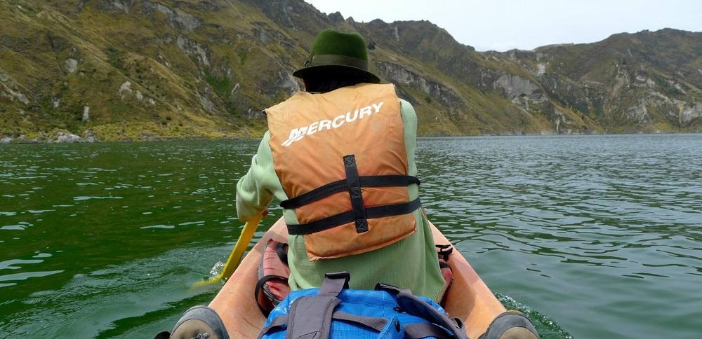 Quilotoa Lake; Lago Quilotoa, Ecuador; nature, landscapes