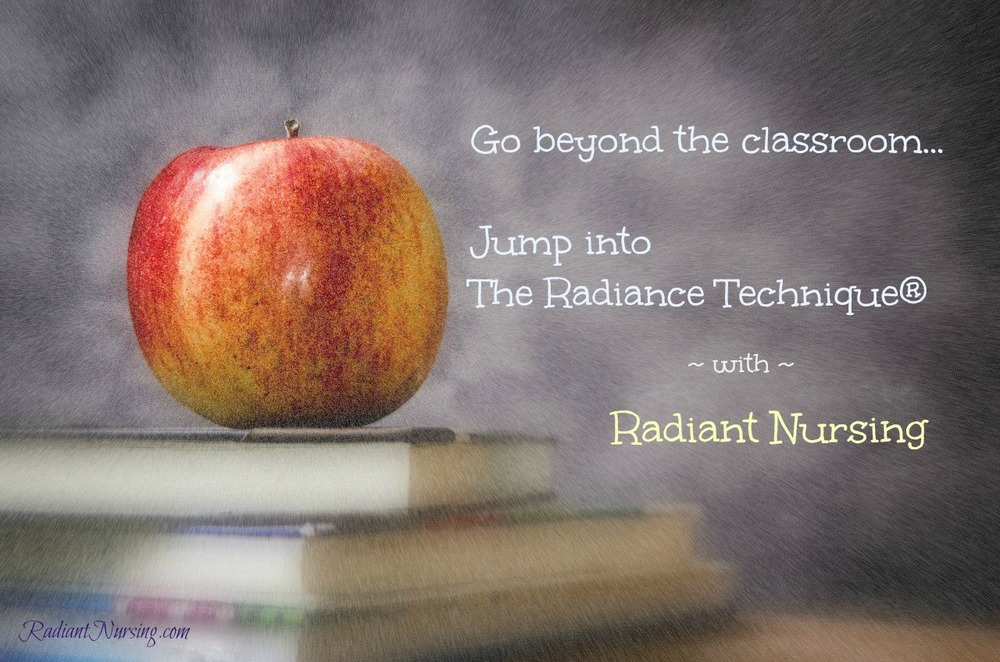 Jump into The Radiance Technique® with Radiant Nursing.