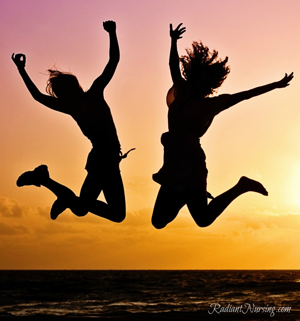 Jump for joy and enjoy the benefits of The Radiance Technique®. See more with Radiant Nursing.