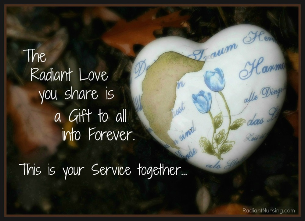 This is your Service together... your Love.