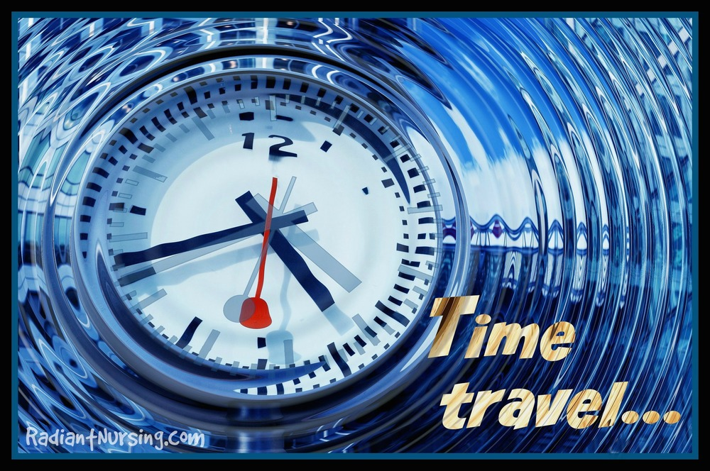 We look at time travel. Are you ready?