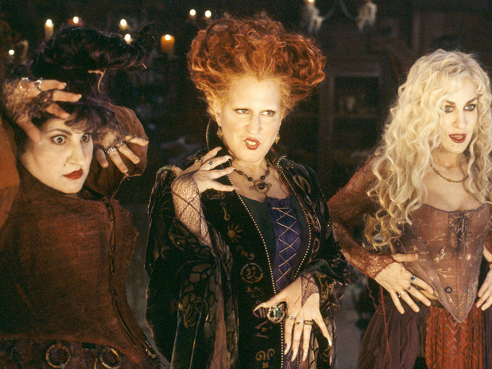 The Sanderson Sisters return from the 1600s to wreak havoc for Halloween.