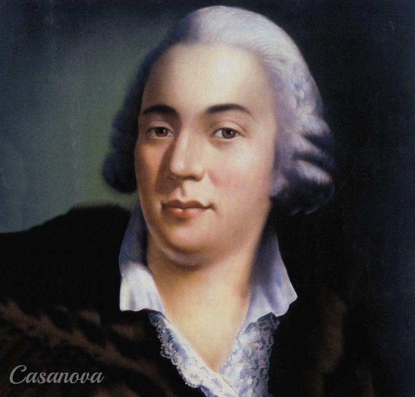 In 1757, Casanova invented the lottery with six numbers.