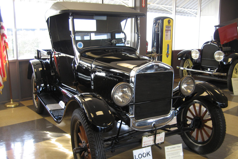 The 1927 Model T Ford Runabout with Pickup Body. Take a trip back in time to hear about driving it.