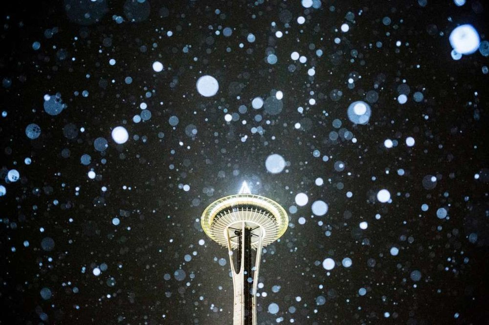 As the snow melts, we return to our daily lives of chilly rain in Seattle.