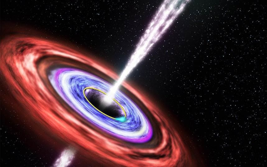A hypernova is a violent star-death and its core becomes a black hole.