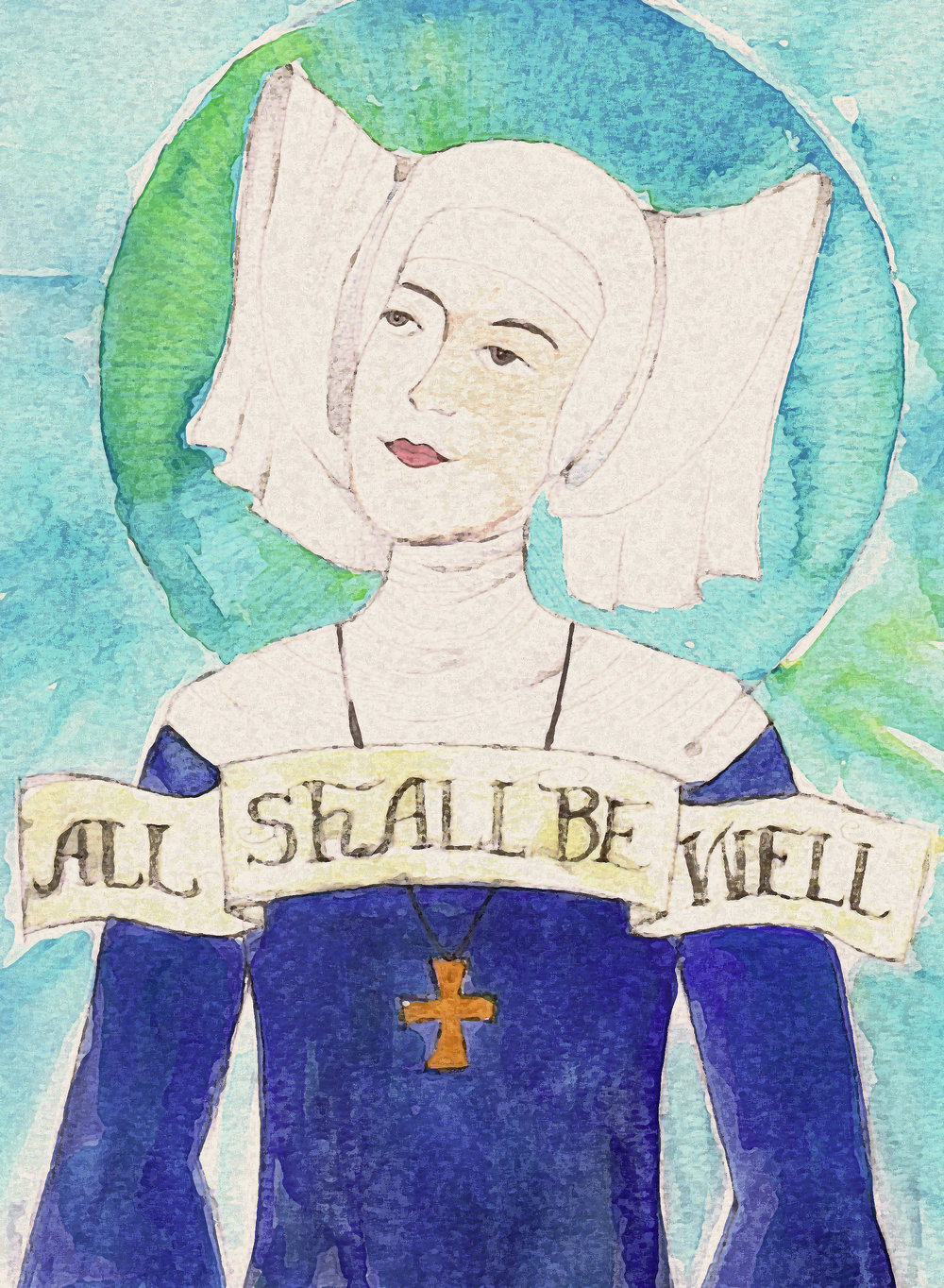 Julian of Norwich is well known for her phrase: All shall be well.