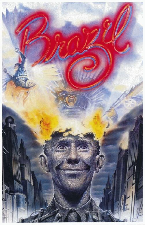 The movie Brazil from 1985 looks more like our lives today.