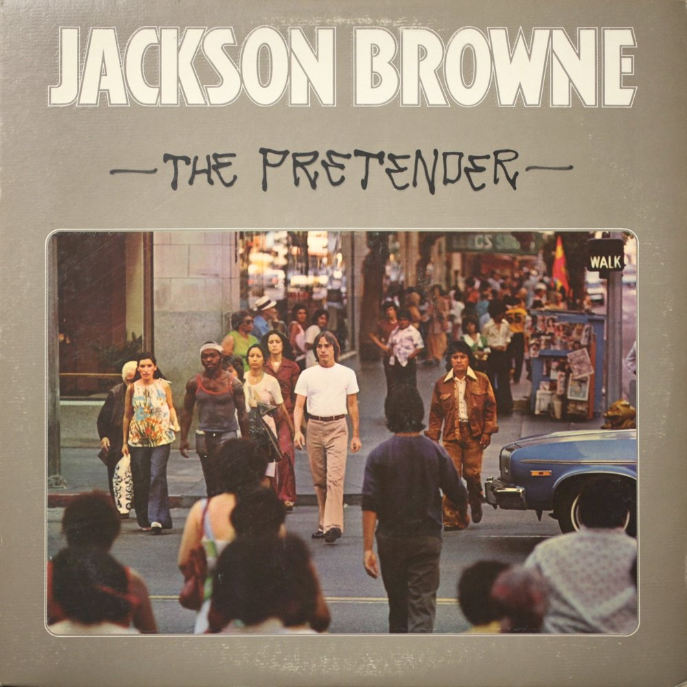 The album The Pretender by Jackson Browne from 1976.