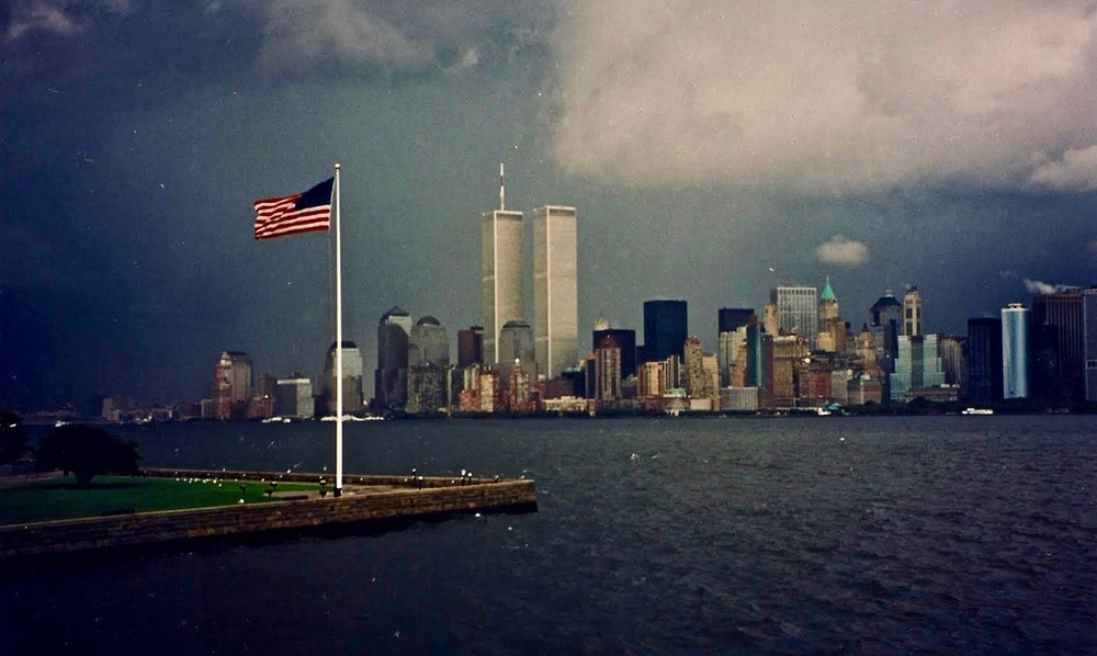 A photo taken on September 10, 2001
