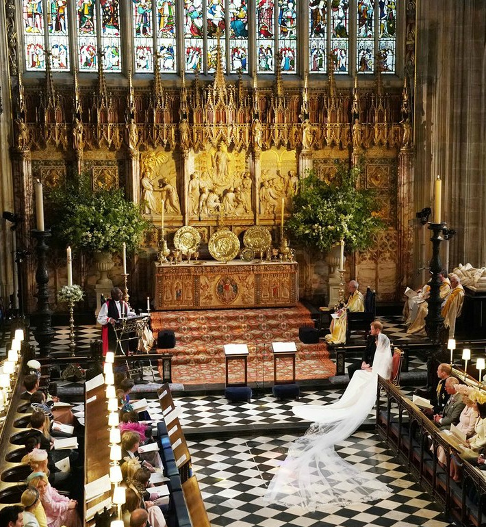Prince Harry and Meghan Markle wed at St George's Chapel