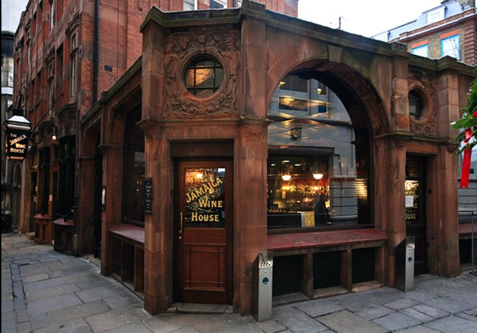 One of the oldest coffee houses in London, established in 1650-1652 as The Turk's Head.