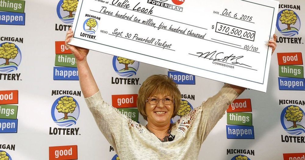 Winning the Powerball Jackpot in Michigan. Can you imagine what you would do with the money?