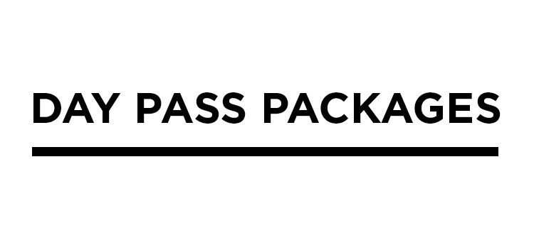 Day Pass Packages