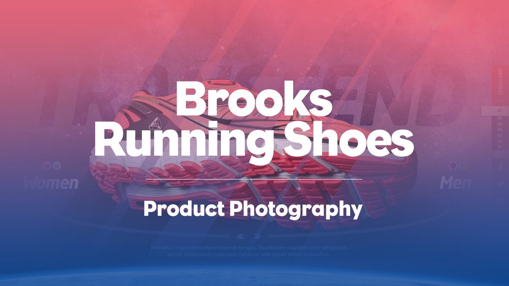 Brooks: Transcend Shoot