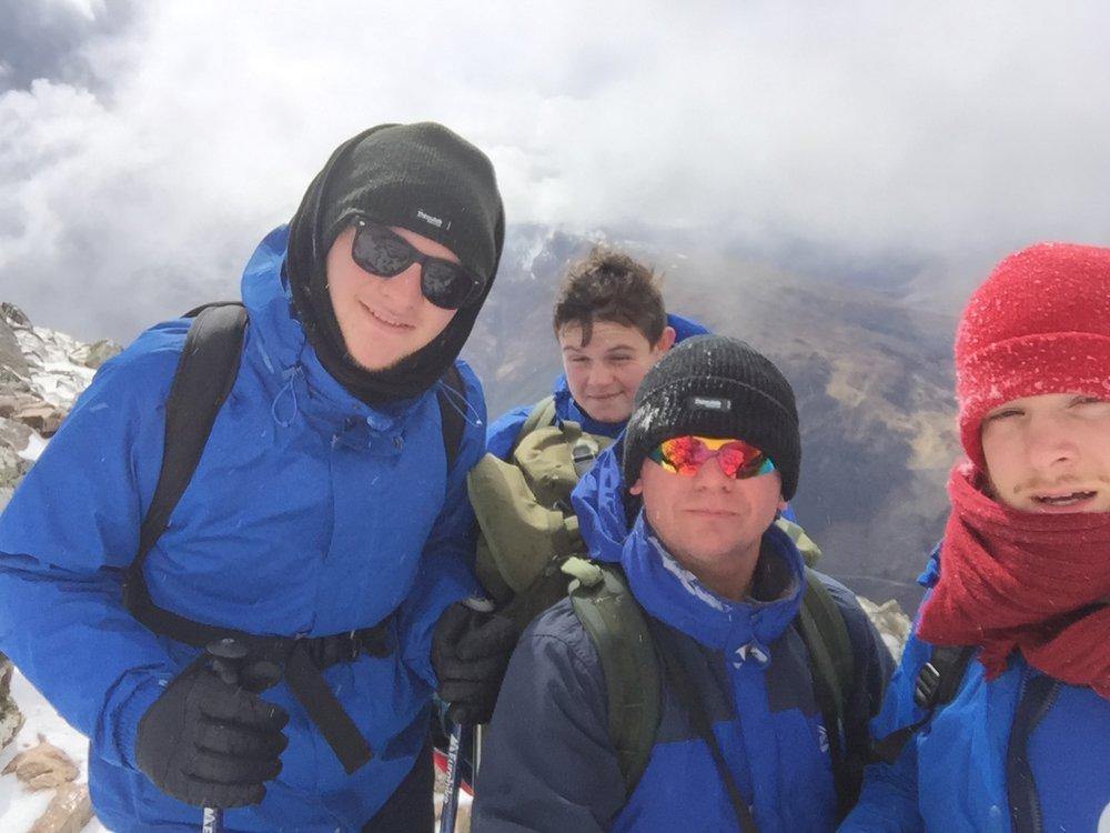KS5 on 3 Peaks Challenge