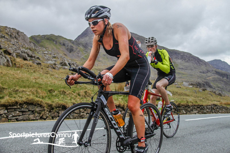 Slateman Full Distance Triathlon 2015, 500m Llyn swim, 53km hilly cycle, 12km hilly run