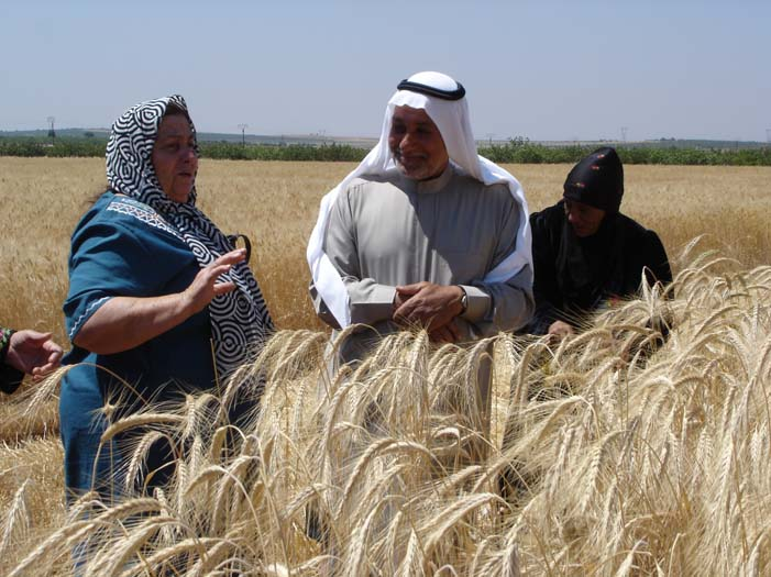 Jordanian Syrian Women Farmer Exchange 3.jpg