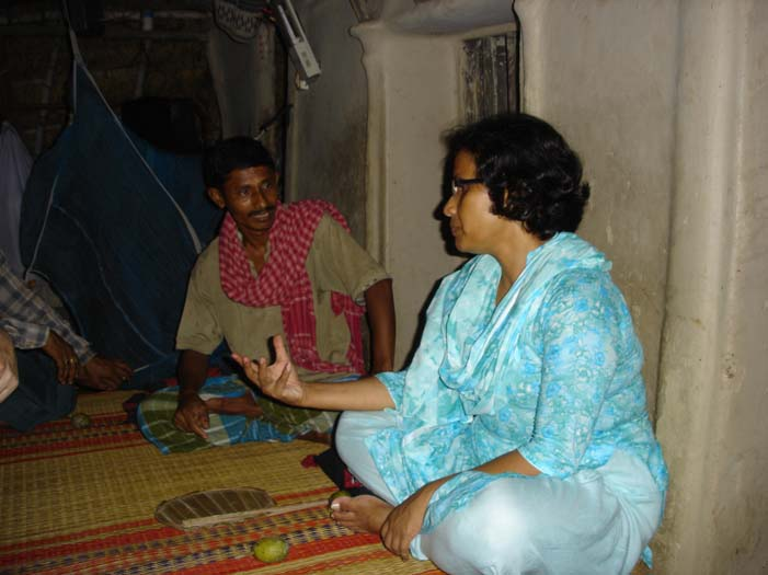 Sanagan Nashkar and Rownok Jahan in Discussion.jpg