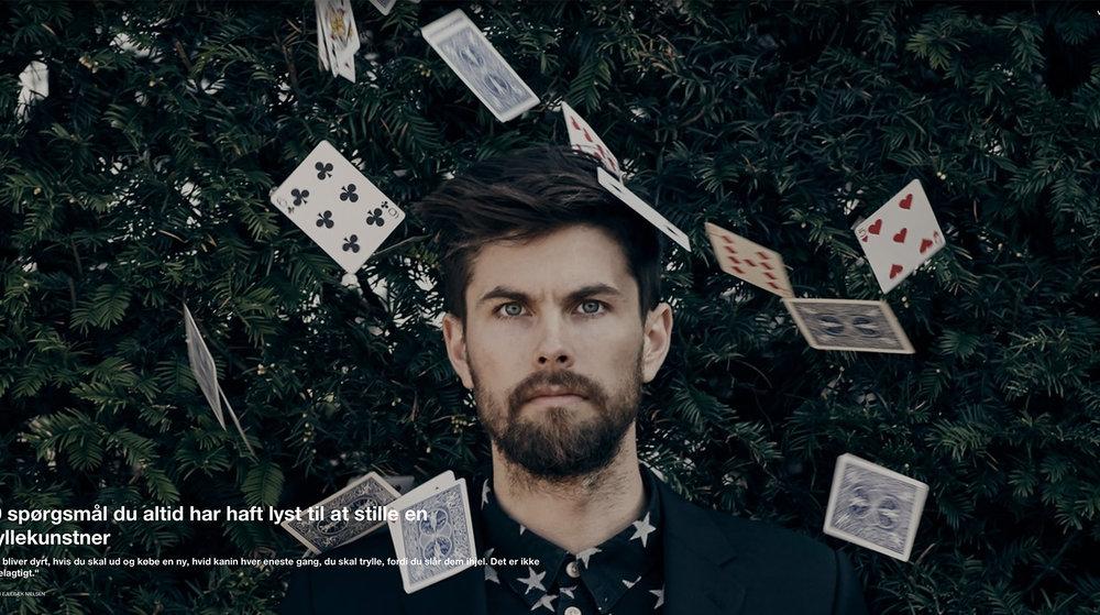 10 spørgsmål du altid har haft lyst til at stille en tryllekunstner - Interview med Vice Danmark