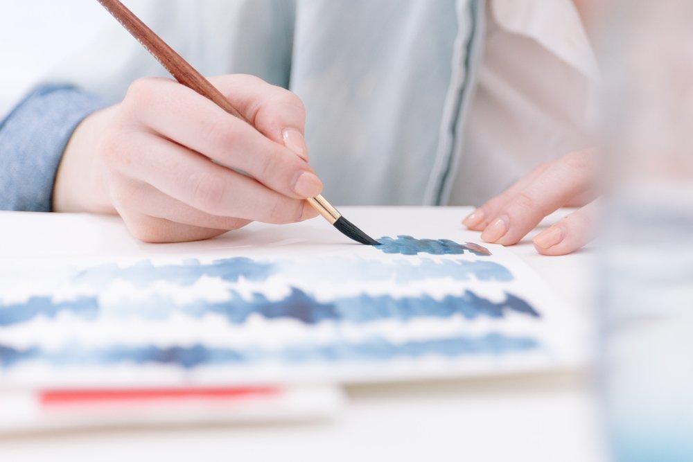 choisir son pinceau aquarelle studio le héron