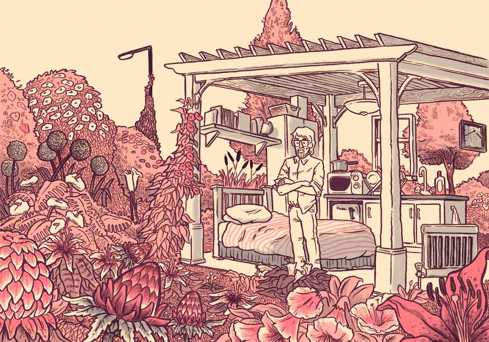 """Design for """"Steven's Garden"""" print"""