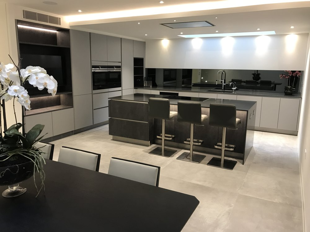Lancaster Gate W2 - A basement kitchen in the heart of London