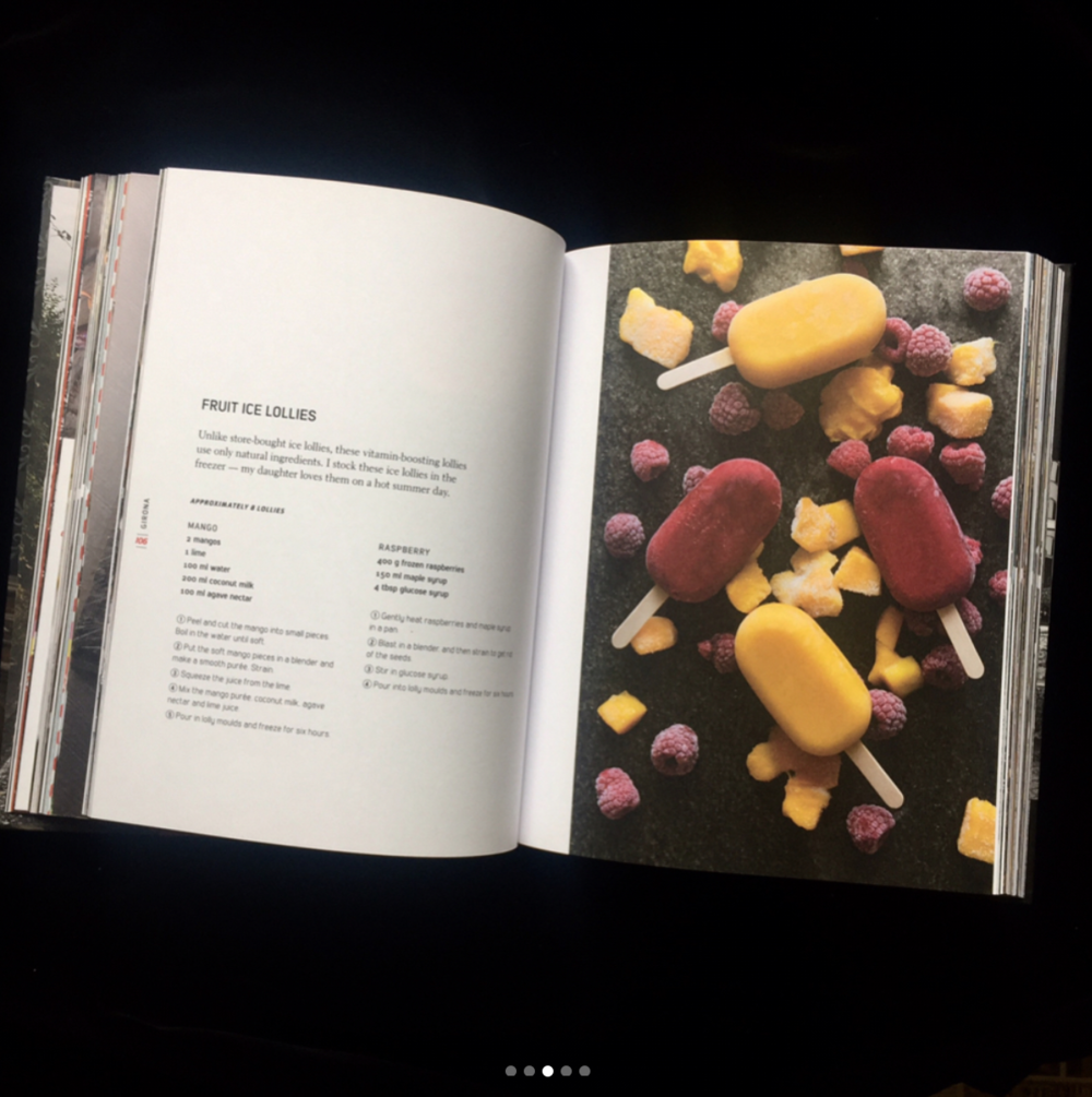Vélochef in Europe - Fresh from the printers.