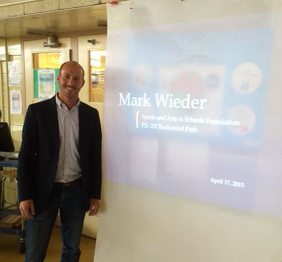 Mark Wieder, Sole POPrietor of Popped Culture, speaks at SASF Speak Week. April, 2015.