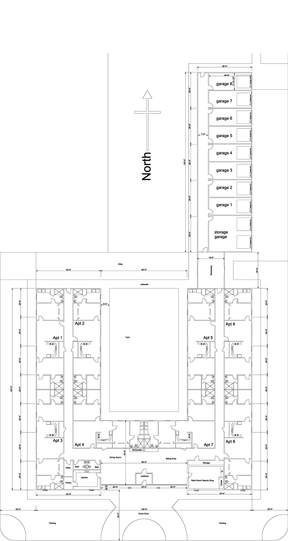 Floorplan of Stockton Estates, Stockton Kansas