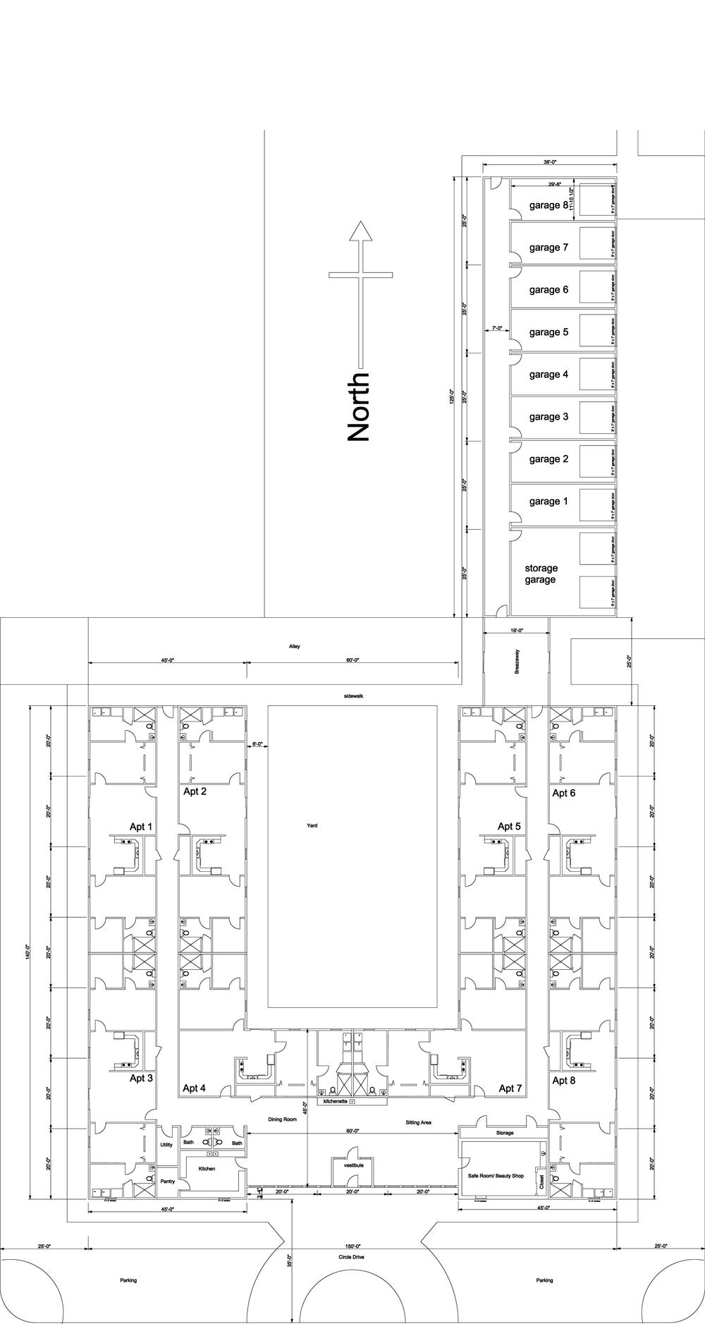 Floorplan of Stockton Estates, Stockton Kansas