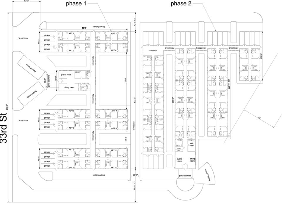 Floorplan of Ellis Estates, Hays Kansas