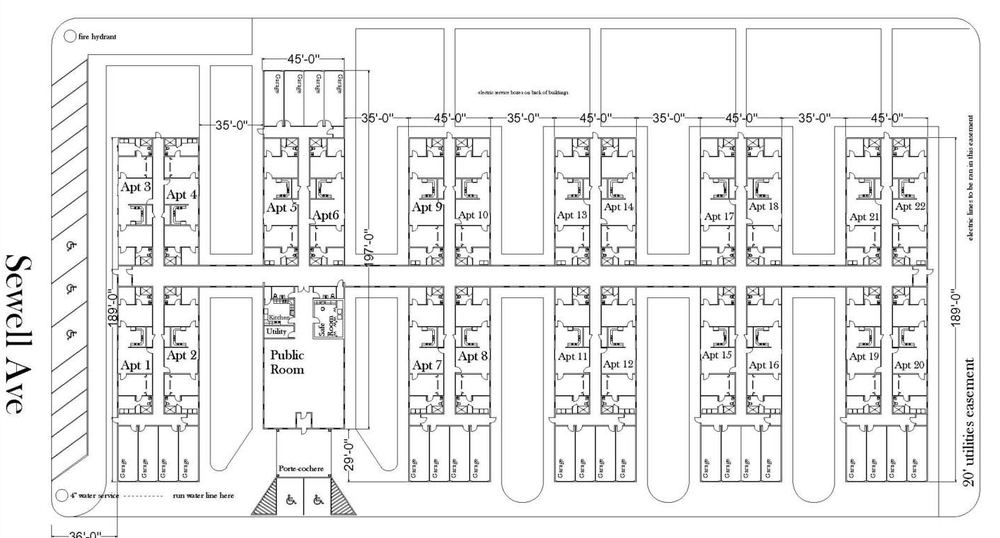 Floorplan of Colby Estates, Colby Kansas