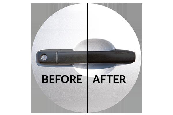 Detailing supplies for Infinity QX50 trim; Vinyl Magic lasts longer thanTurtle Wax Trim Restorer, Wipe New, Mothers Back-to-Black, ReNu Finish, Meguiar's Black Plastic Restorer