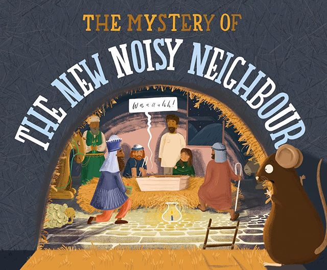 Thanks for all your lovely kind messages on my post about our exciting news! 🤗 Here's the other big project that's been keeping me busy - 'The Mystery of the New Noisy Neighbour' is this years christmas story published by Bible Society. I had lots of fun illustrating this one, a story of the nativity from a different perspective. You can get your very own copy on their website!