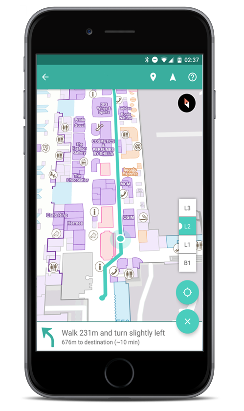 Beacon Based Indoor Positioning And Wayfinding By Steerpath