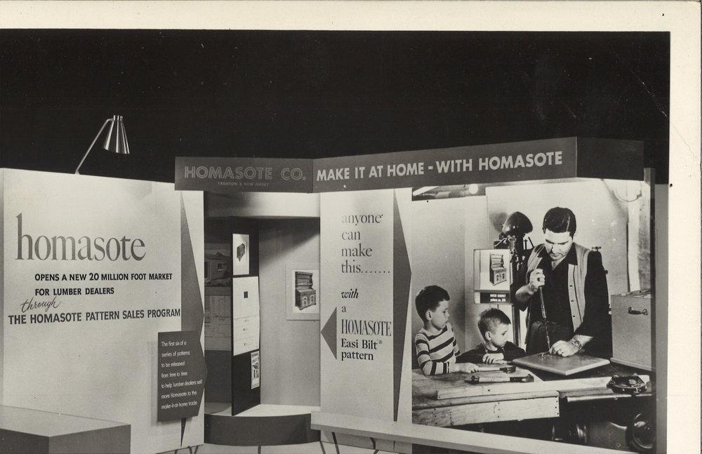 Homasote Company, traveling exhibit