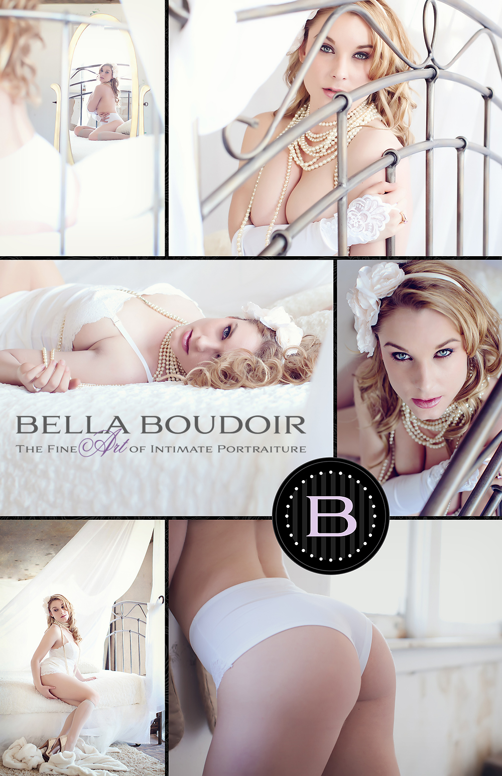 Bridal intimate portraits