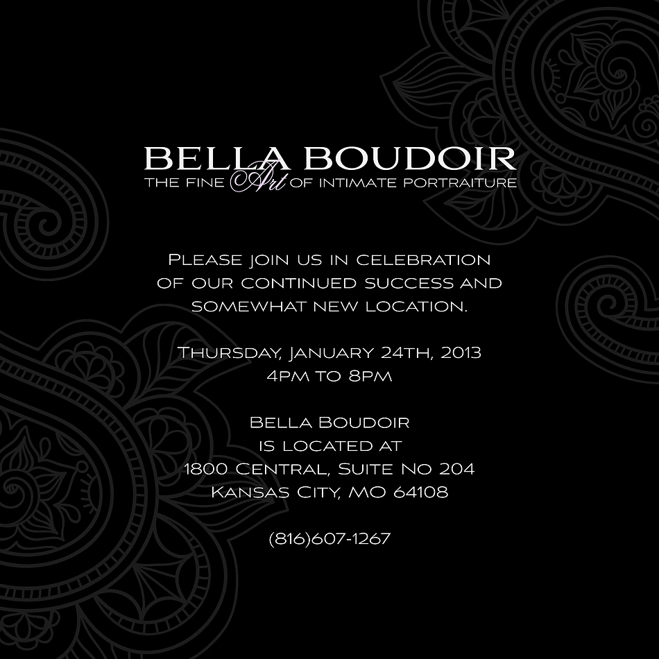 Bella Boudoir Open House