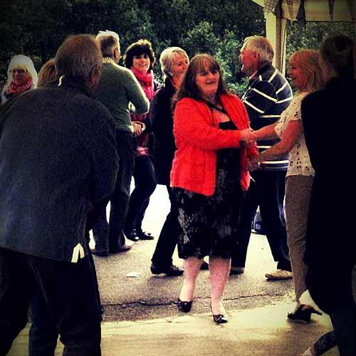 dancing starts