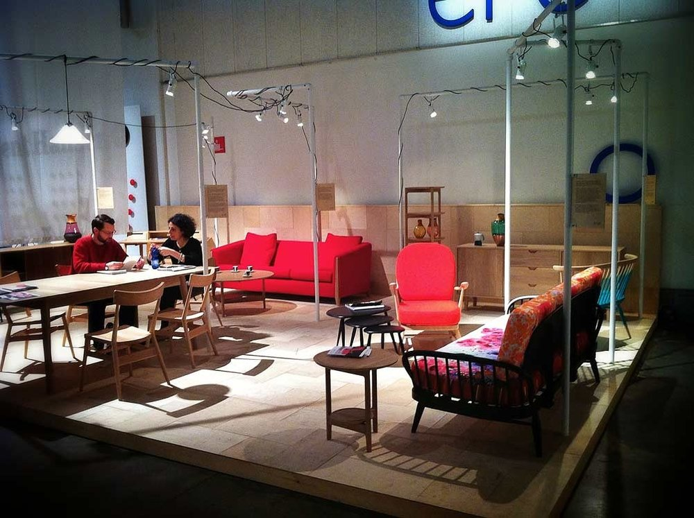 Ercol at Designjunction