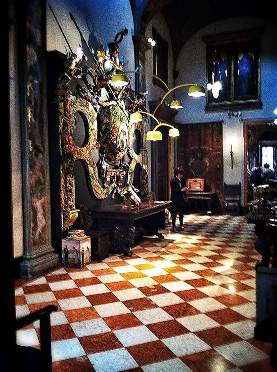 hallway at bagatti valsecci