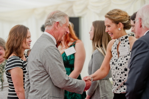 christine anderson meeting Prince Charles
