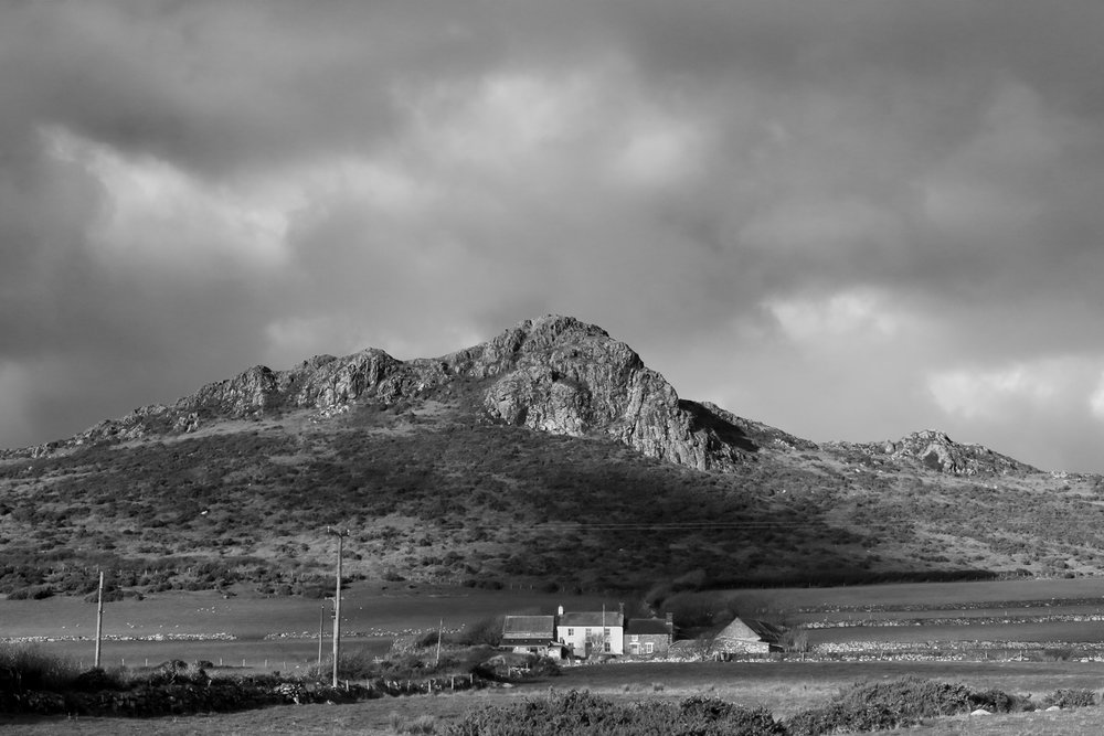 Carn Llidi - near St David's