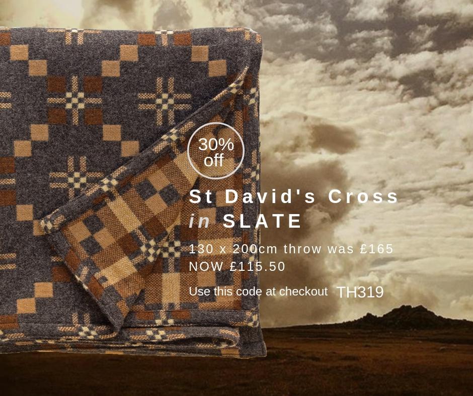 Facebook Post St Davids Cross Slate throw.jpg