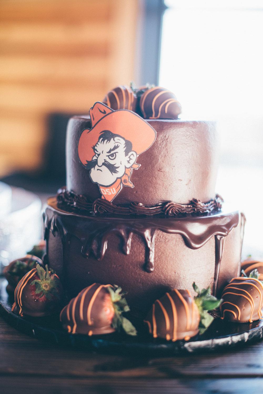OSU Groom Cake