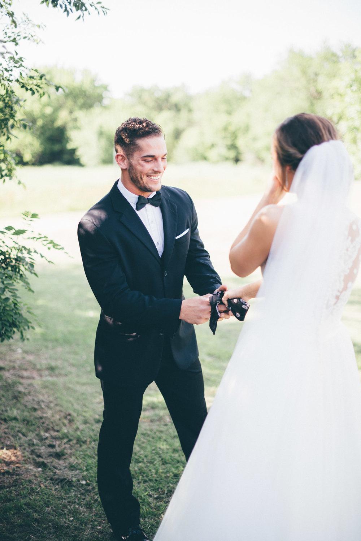 oklahoma wedding first look