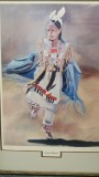 """Fancy Dancer"" by Thelma Reicks Reserve: $100"